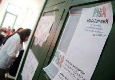 Crean una consejería sobre sexualidad en el IFD Nº 12