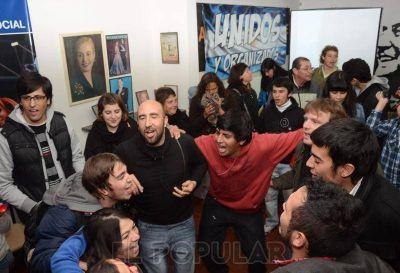 Frente para la Victoria: ganó la participación juvenil