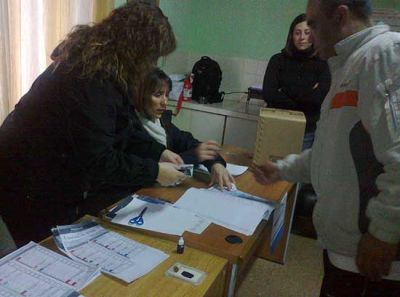 Más de 70 detenidos votaron en el Penal de Sierra Chica