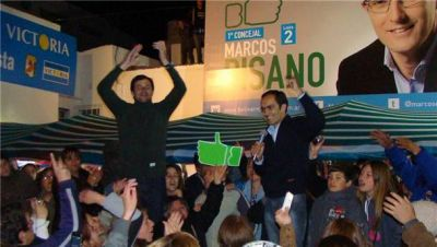 Pisano ganó en Bolívar pero hubo dos festejos