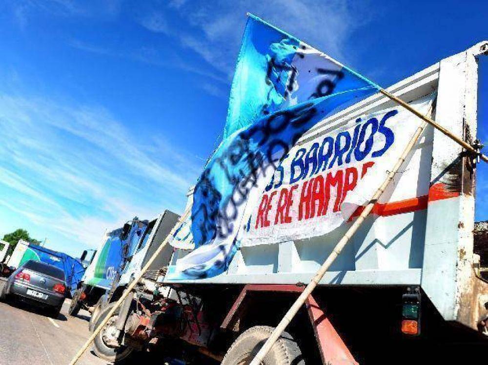 Se registran cinco piquetes con cortes de rutas en el cordón industrial de San Lorenzo