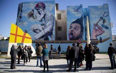 Arte callejero en Villa Urquiza