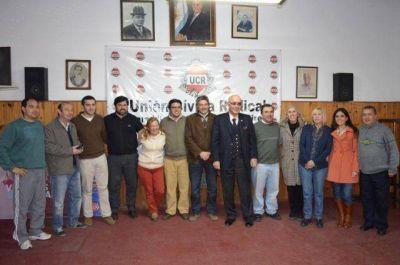 El intendente Gorosito se reunió con los candidatos del Frente Progresista Cívico y Social, llamando a votar a la lista 509 encabezada por Massaccesi y Basabe