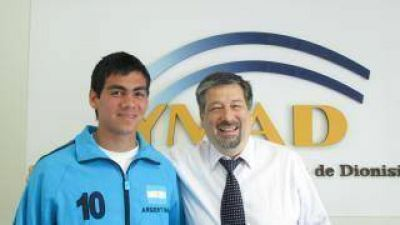 YMAD respaldó a deportista catamarqueño en el mundo