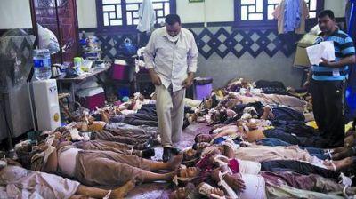 Represión en Egipto: arrasan dos campamentos islámicos: cientos de muertos