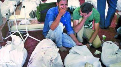 Un mar de cadáveres: admiten que ya hay más de 600 muertos