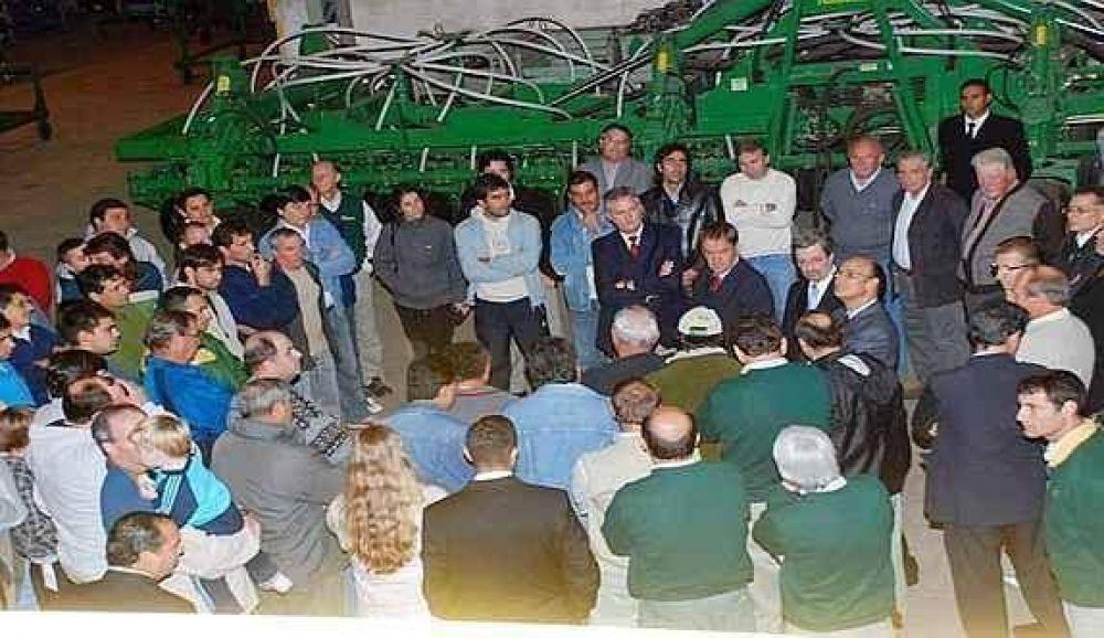 Agropartes: más de 300 talleres en crisis