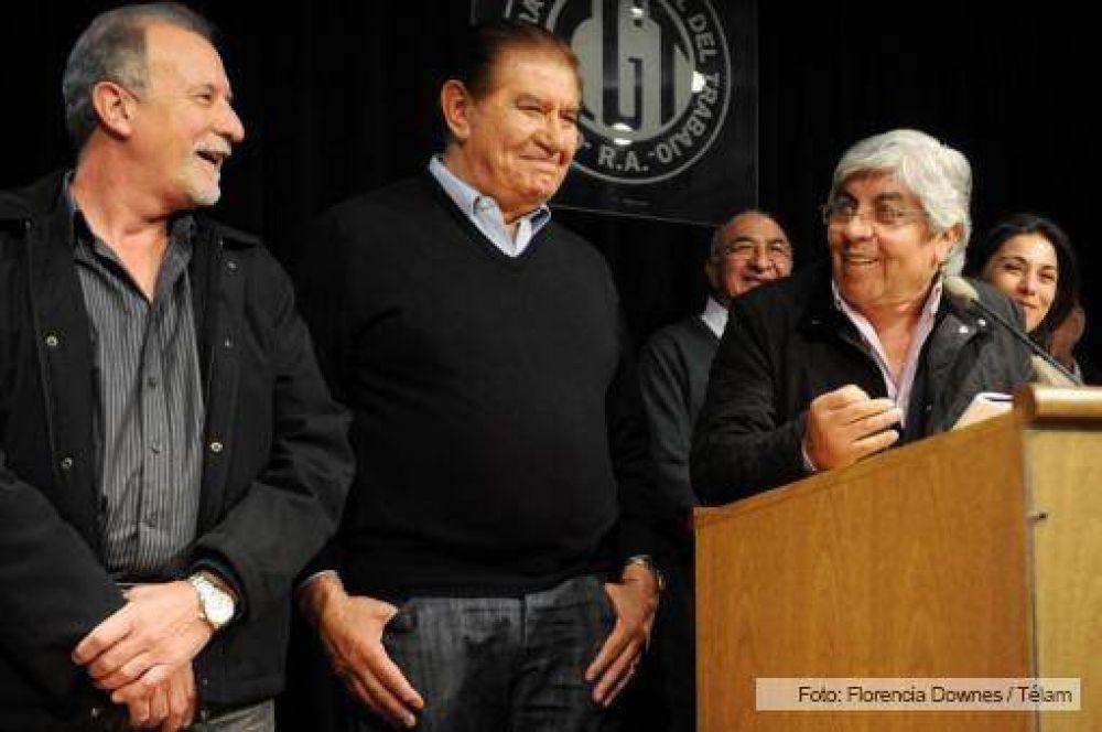 """""""El objetivo es la unidad del movimiento obrero"""", indicó Moyano"""