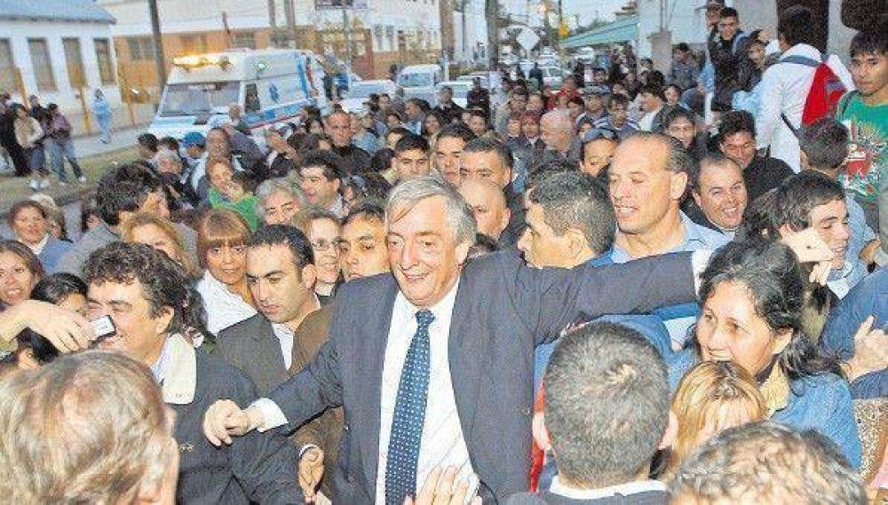 Kirchner promete asumir su banca