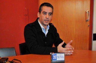 """Diego Rodríguez: """"Agustina Ayllon va a estar comprometida a legislar para los platenses"""""""