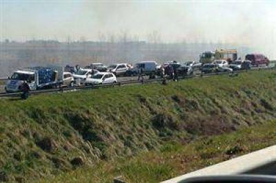 """Fueron """"exógenas"""" las causas del accidente en la Autovía 2"""