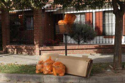 La recolección de residuos será normal durante el feriado