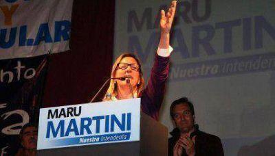 """Martini en el lanzamiento de campaña: """"Le pusimos el pecho a las balas"""""""