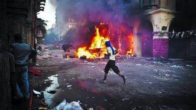 La violencia desborda a Egipto y suma otros 80 muertos