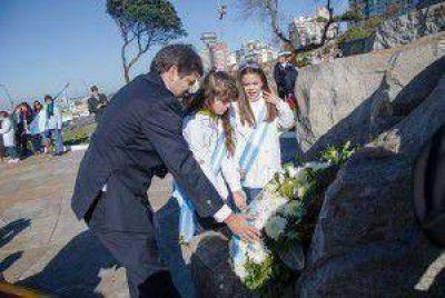 """Ariel Ciano: """"Hoy recordamos a un héroe que tuvo los pies en la tierra y el pensamiento en el cielo"""""""