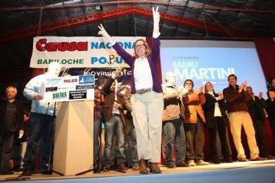 Elección en Bariloche entre respaldos y silencios