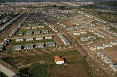 Se entregar�n 400 viviendas en trece localidades en los pr�ximos dos meses