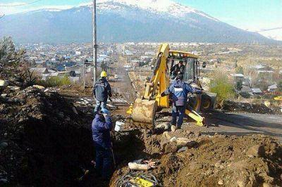Se realizó intenso operativo para detener fuga de gas en Los Maitenes