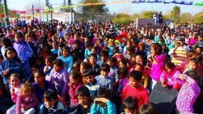 La ciudad se llenó de festejos para celebrar el Día del Niño
