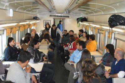 En campaña: El Tren Sanitario llegó a Baradero