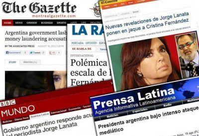 #ElParaísoDeCristina, Lanata y la Casa Rosada, en la prensa extranjera