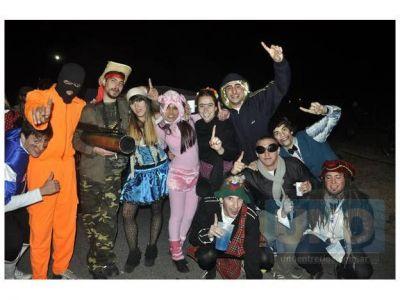 Fiesta de Disfraces: Pocos detenidos, muchos alcoholizados