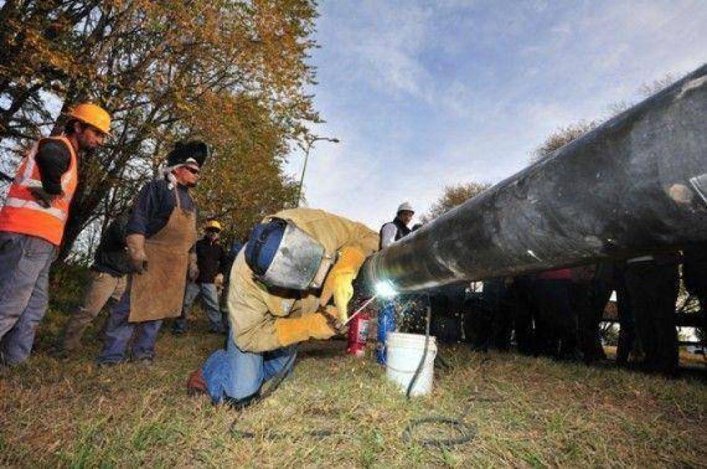 El gasoducto del departamento Pringles paralizado por falta de habilitación de Ecogas