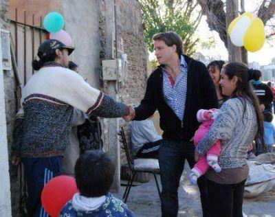 Campbell festejó con los chicos de San Fernando