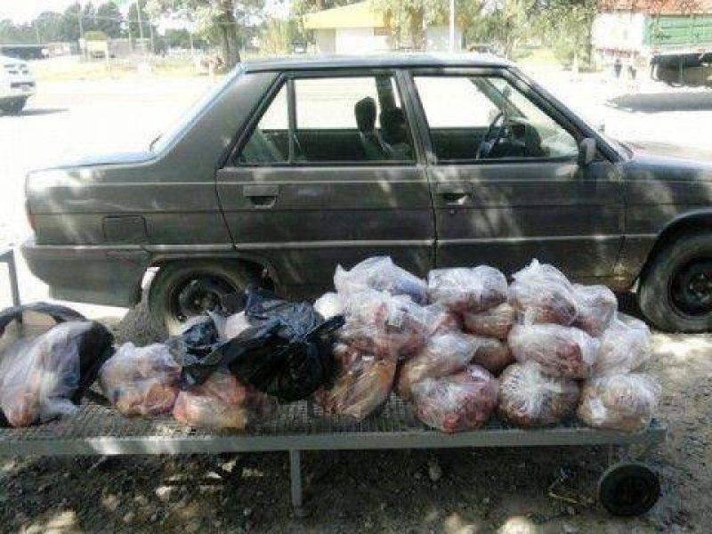 Carne de contrabando, una realidad