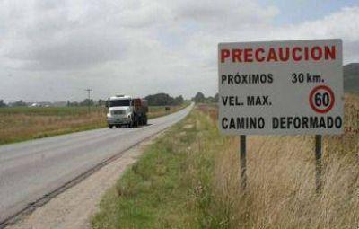 La Provincia llama a licitaci�n por refuerzo estructural de pavimento de la Ruta 74