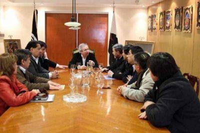 El gobernador recibió a intendentes con quienes analizó las situaciones municipales y el panorama electoral