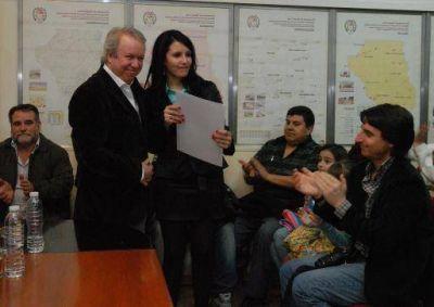 Rodiño asumió en la secretaria de Cultura