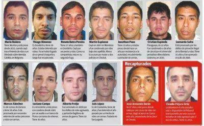 Fuga de presos: la lista de los 11 que permanecen prófugos