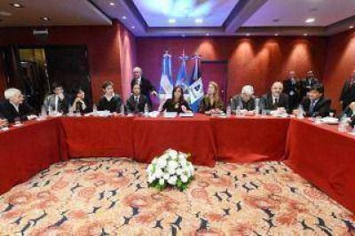 Finalizó el encuentro de Cristina con empresarios y sindicalistas