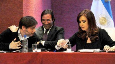 Cristina se reunió con empresarios y gremialistas