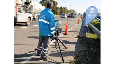 Seis radares vigilan la velocidad en la Panamericana