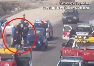 Las cámaras de seguridad de Tigre permitieron apresar a delincuentes