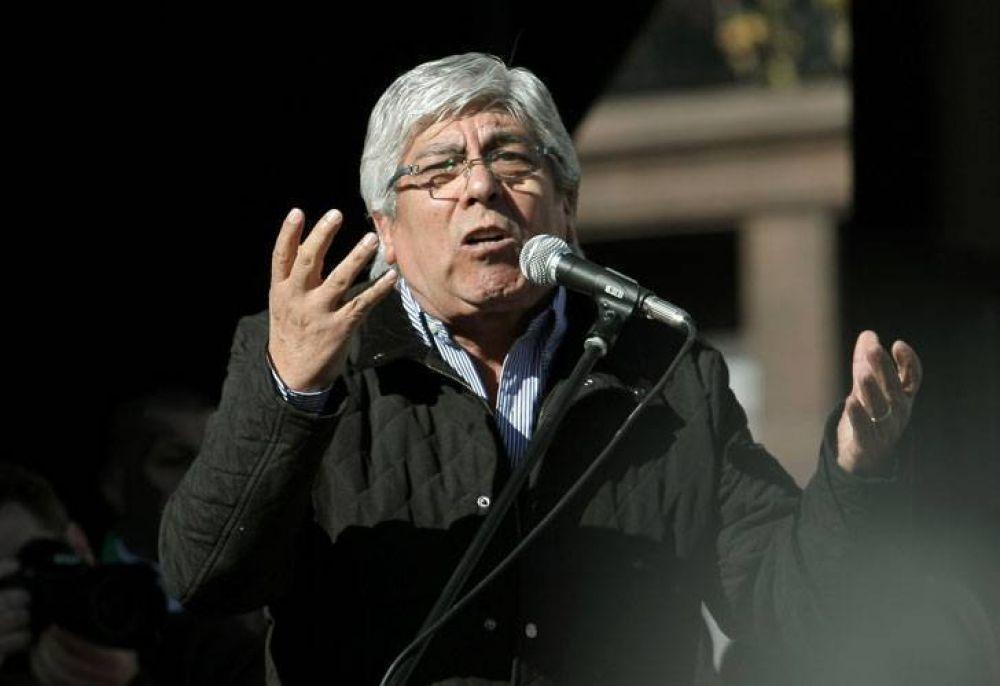 """Moyano: """"Scioli no tiene coraje para conducir el país"""""""