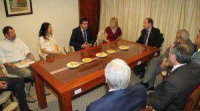 Decima se reunió con todos los miembros del Superior Tribunal de Justicia
