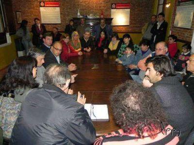 Reunión de la UCR con otra fuerza integrante del Frente Progresista