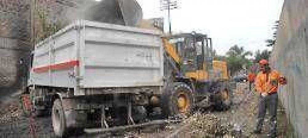 El municipio gasta $450 mil por mes en limpiar basurales crónicos