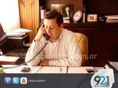 El Intendente de Guaminí tuvo un encuentro por la problemática energética del distrito