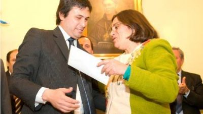 Más cambios en el gabinete de la gobernadora Lucía Corpacci