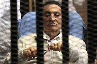 Egipto: aseguran que es inminente la liberación de Hosni Mubarak