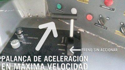 Accidente de trenes en Castelar: pericia determinó que el joystick de frenado funcionaba correctamente