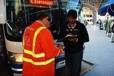 Un 50% de los micros inspeccionados en Tandil por el Ministerio de Trabajo presentó irregularidades