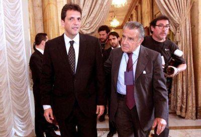 Sin malenazos y con críticas al Gobierno, Massa sostiene el hielo con Scioli