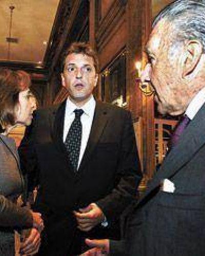 Macri y Massa, con el mismo discurso