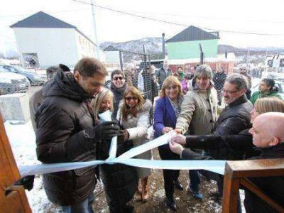 Sciurano inauguró el Centro Comunitario Río Pipo