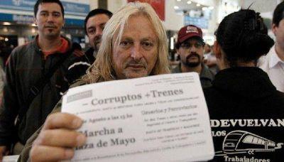 Marcha a Plaza de Mayo por la reestatización de los ferrocarriles
